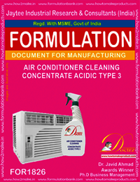 AIR CONDITIONER CLEANING CONCENTRATE ACIDIC TYPE 2