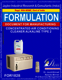 Alkaline concentrated air-Conditioner cleaner type 2