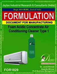 Foam Acidic AC cleaner concentrate