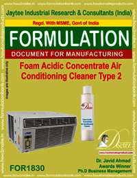 Acidic foaming AC cleaning concentrate 2