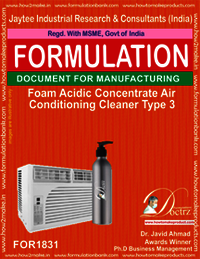 Foaming Acidic AC cleaner concentrate type 3