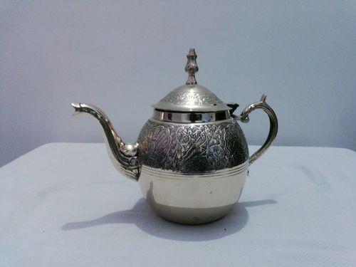 Brass Engrave Tea Pot