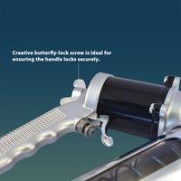 360 Degrees Rotate Continuous Flow Air Grease Gun