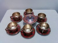 Enamel Tea Cup Set