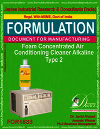 Alkaline foaming AC cleaning concentrate type 2