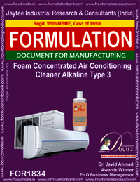Alkaline foaming AC cleaning concentrate type 3