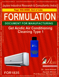 Gel Acidic Air Conditioning Cleaning Type 1