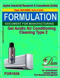 Gel Acidic Air Conditioning Cleaning Type 2