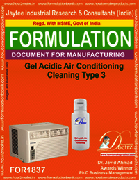 Gel Acidic Air Conditioning Cleaning Type 3