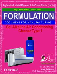 Gel Alkaline Air Conditioning Cleaner Type 1