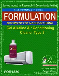 Gel Alkaline Air Conditioning Cleaner Type 2