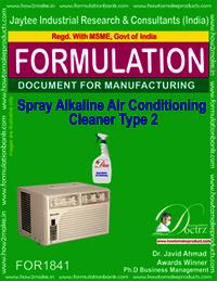 Spray alkaline air conditioner cleaner type 2