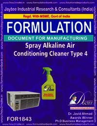 Alkaline air conditioner spray type 4