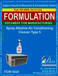 Spray alkaline AC cleaner type 5
