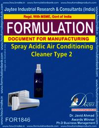 Acidic spray AC cleaner type 2