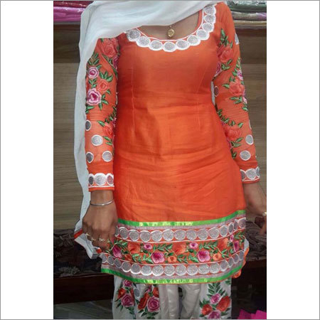 Multicolour Ladies Designer Patiala Suit
