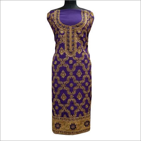 Ladies Fancy Embroidery Suit