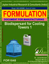 Bio-dispersant for cooling tower 1