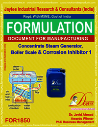 Concentrate steam boiler scale corrosion inhibitor 1