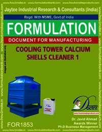 Cooling tower calcium shells cleaner type 1
