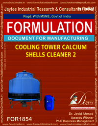 Cooling tower calcium shells cleaner type 2