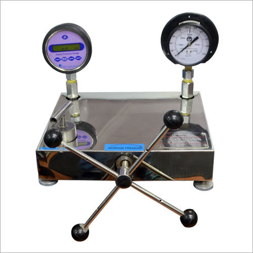 Pressure Comparison Test Pump