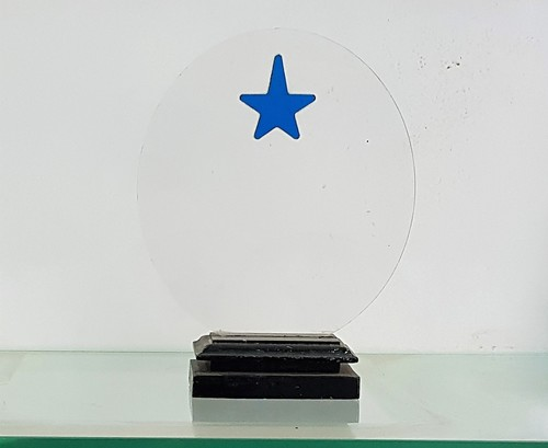 Customized acrylic trophy
