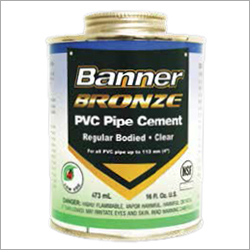 PVC And CPVC Cements, Primers, Cleaners