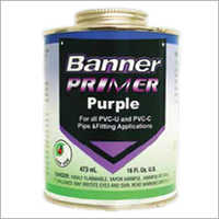 Banner Primer Purple