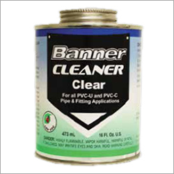 Banner Cleaner Clear