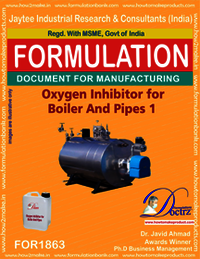 Oxygen inhibitor compound for boiler and pipes1