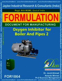 Oxygen inhibitor compound for boiler and pipes 2