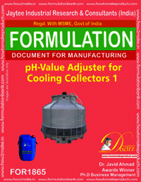 pH value adjuster for cooling tower collector 1