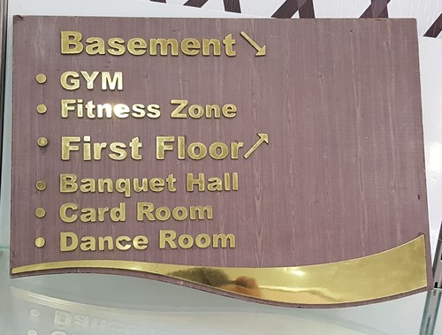 Customized Wall Sign Plate