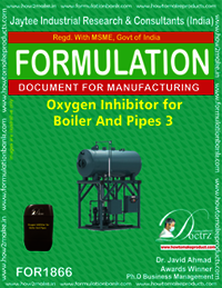 Oxygen inhibitor compound for boiler and pipes 3