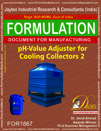 pH value adjuster for cooling tower collector 2