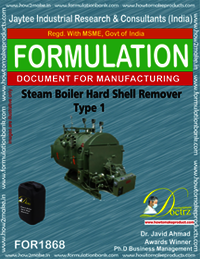 Steam boiler hard shell remover type 1