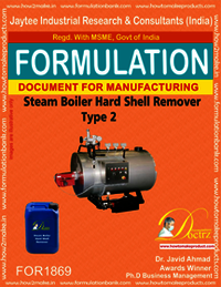 Steam boiler hard shell remover type 2