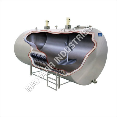 Constructional View BULK MILK COOLER