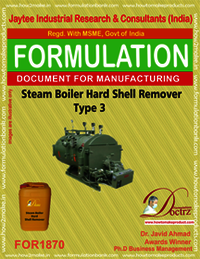 Steam boiler hard shell remover type 3