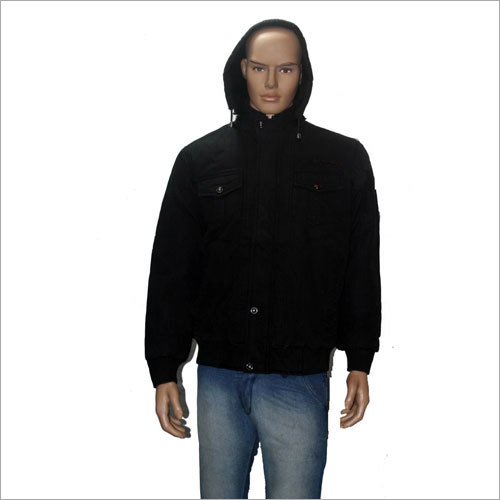 Mens Hooded Full Sleeve Jacket