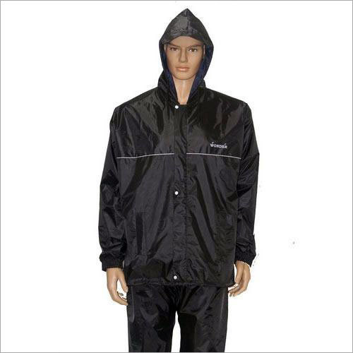 Mens Hooded Raincoat