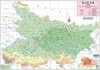 Physical Map of Bihar