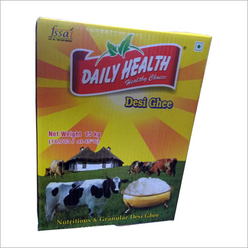 Packaged Desi Ghee