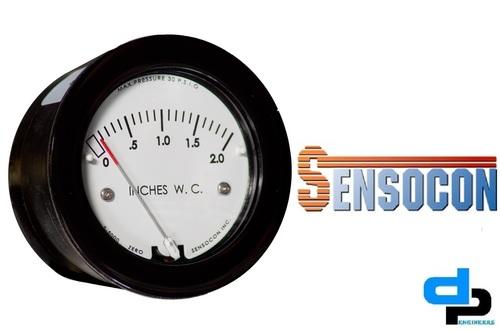 Sensocon USA Miniature Low Cost Differential Pressure Gauge Series Sz-5000-100MM