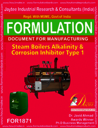 Steam Boiler Alkalinity and corrosion inhibitor type 1