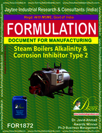 Steam Boiler Alkalinity and corrosion inhibitor 2