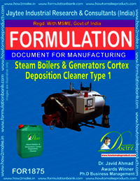 Steam Boilers and Generators Cortex Deposition Cleaner type 1