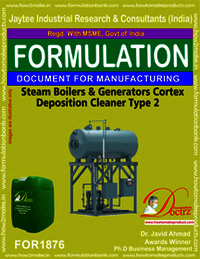 Steam Boilers and Generators Cortex Deposition Cleaner type 2