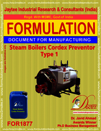 Steam Boiler Cordex Preventor Type 1